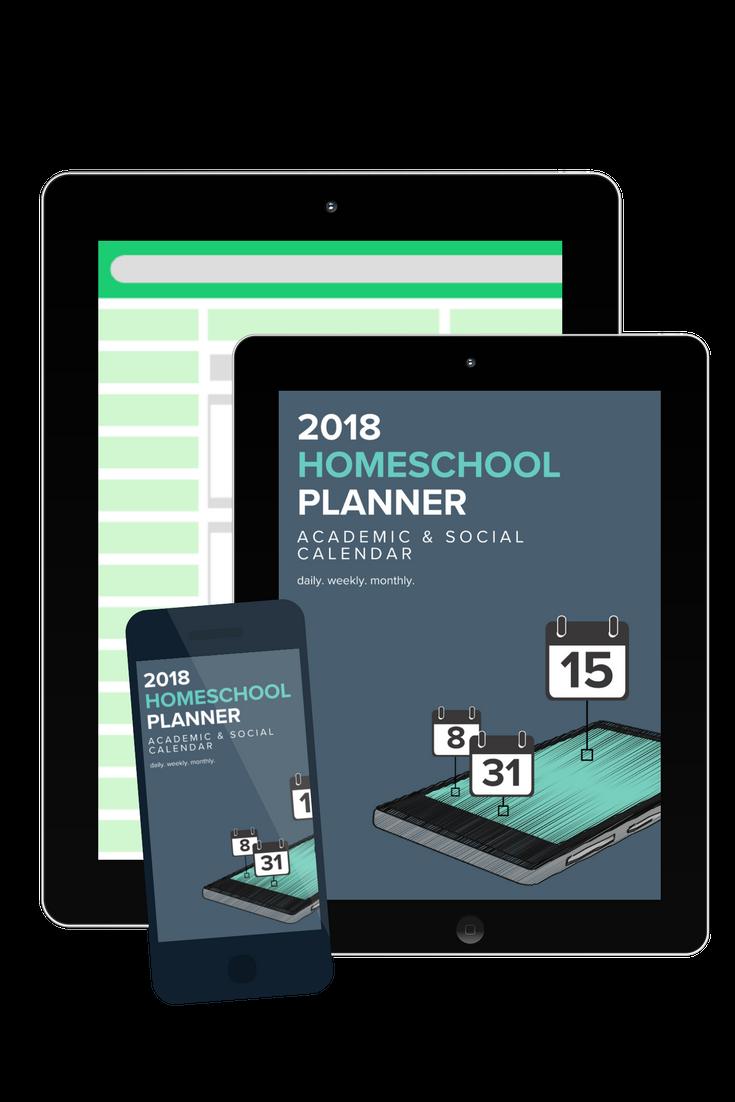 2018 Homeschool Planner