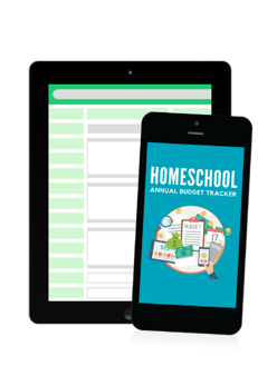Homeschool Annual Budget Tracker