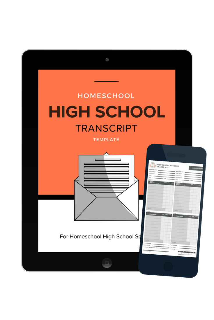 Homeschool High School Transcript