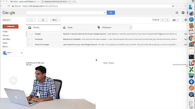 Steppinghacks Video: Quick and Easy Gmail Shortcuts